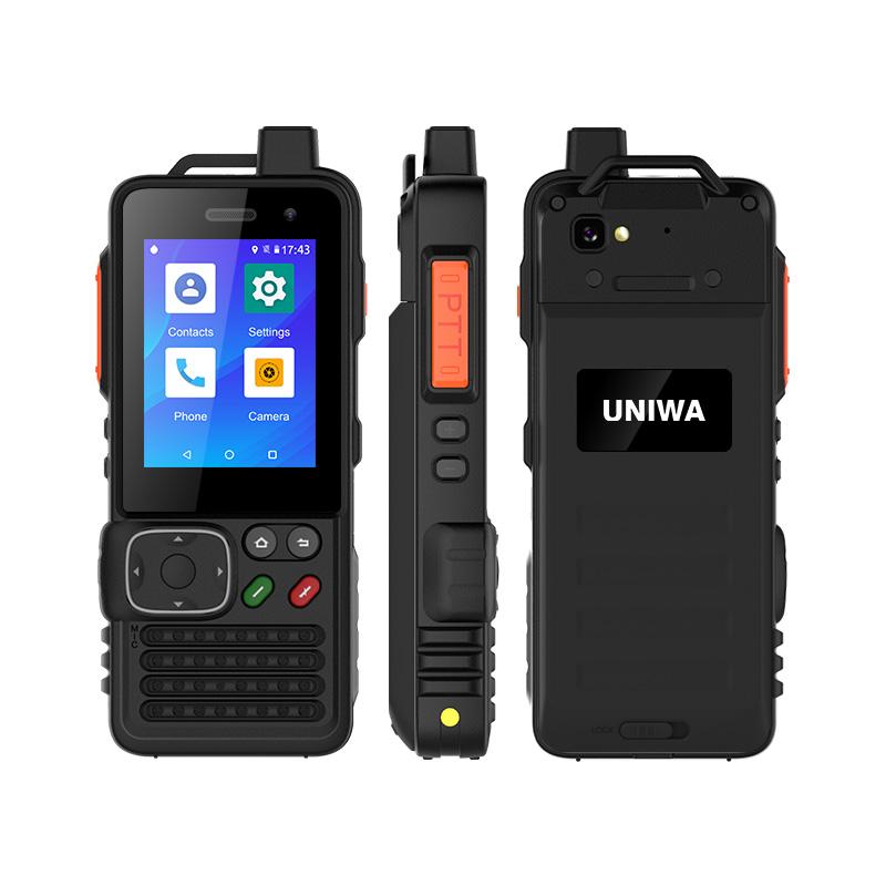 UNIWA F70 2.4 Inch Screen 4000mAh Android 4G LTE Zello Walkie Talkie