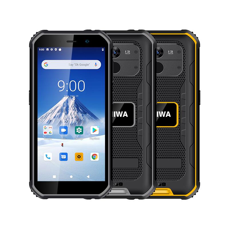 UNIWA F963 5.5 Inch Screen IP68 Waterproof 4G NFC Rugged Smartphone