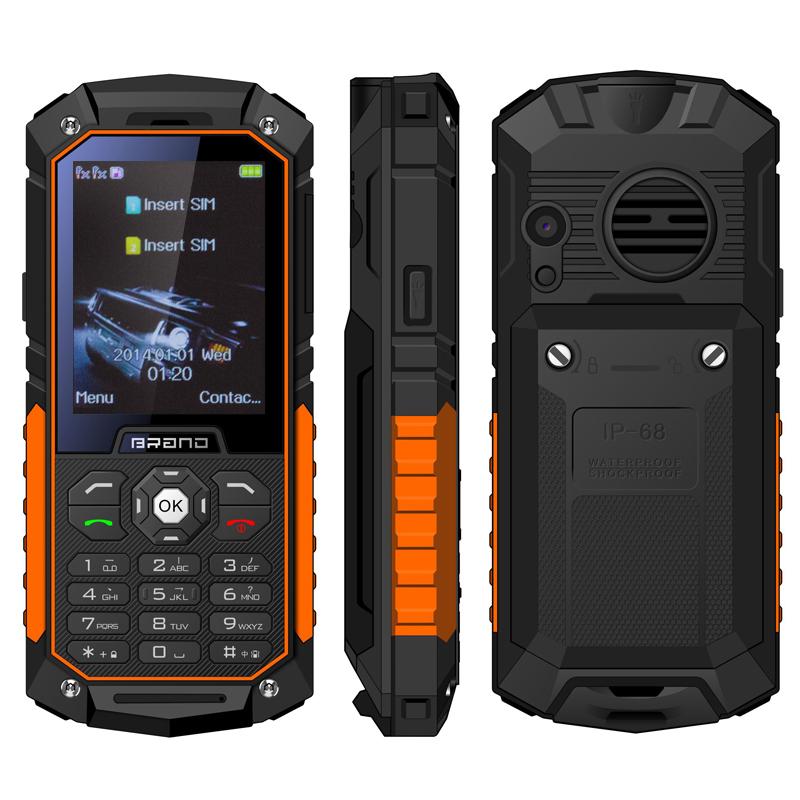 UNIWA S8 2.4 Inch QVGA Screen IP68 Waterproof Rugged Phone