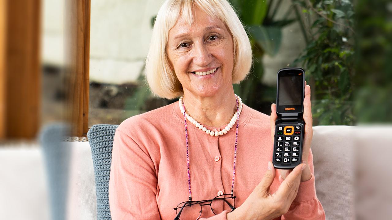 New Product Launch! V909T Flip Phone for Seniors